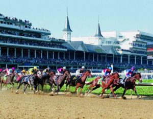 May 21, 2021 - Day At the Track @ Churchill Downs Racetrack, Millionaires Row, 4th Floor | Louisville | Kentucky | United States